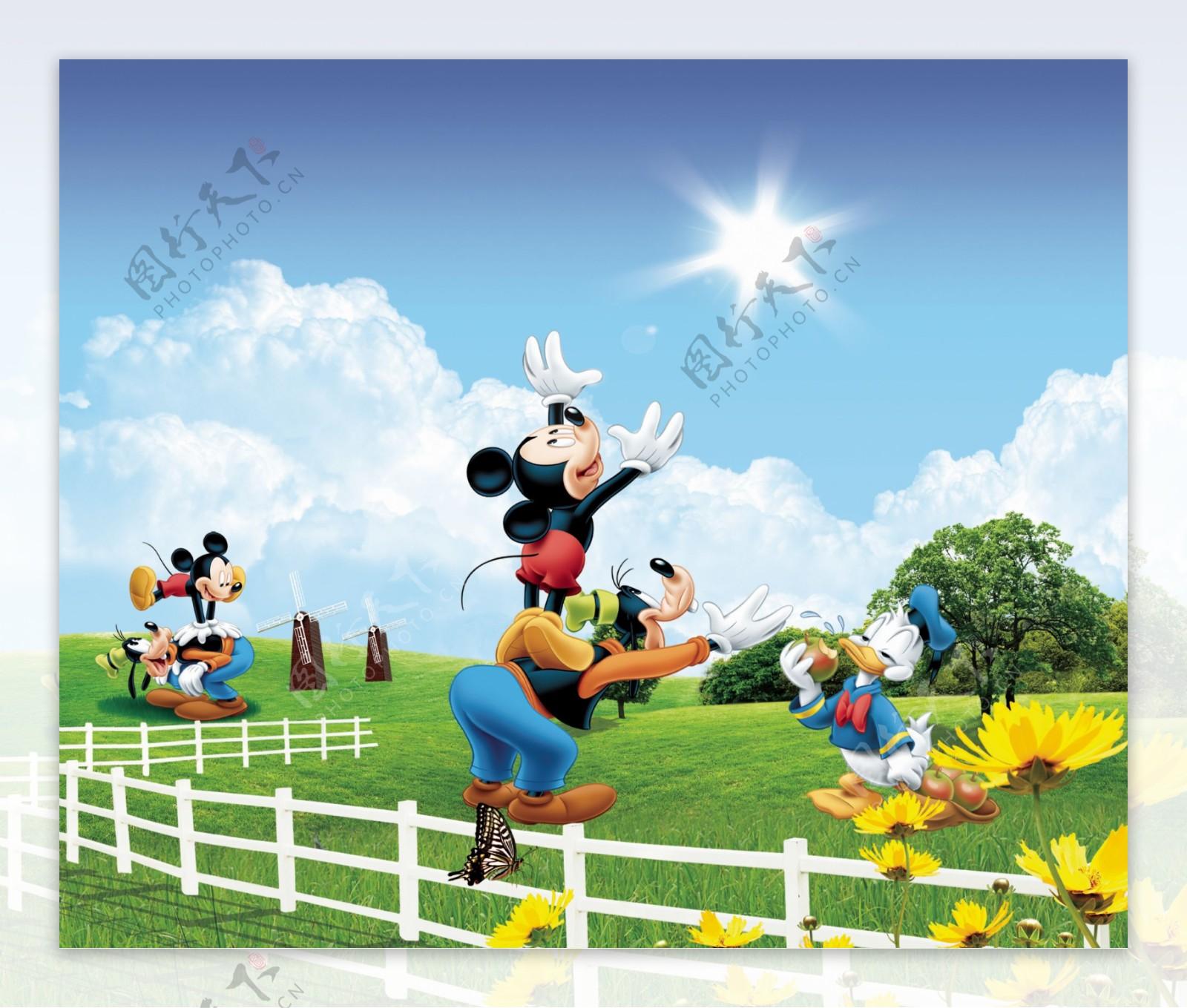 米老鼠卡通图图片